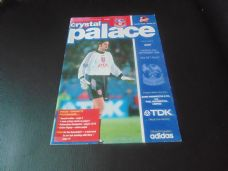 Crystal Palace v Bury, 1996/97 [CC]